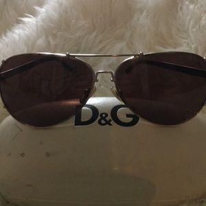D&G Brown Aviators